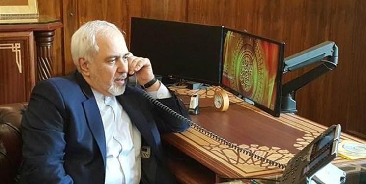 ظریف با وزیر خارجه جدید عراق تلفنی گفت وگو کرد