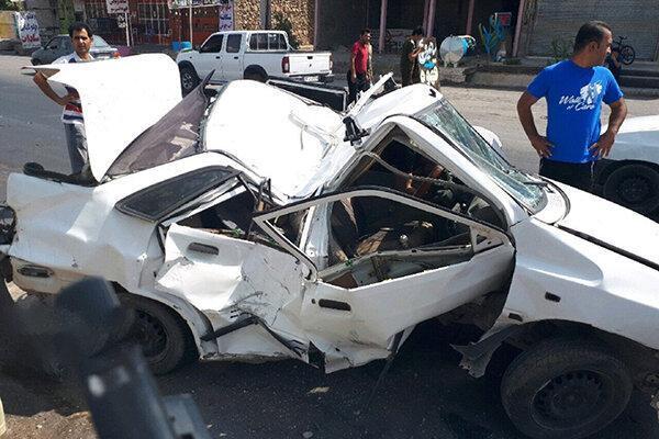 مصدومان رانندگی یک سوم بیمارستان های اصفهان را اشغال نموده اند