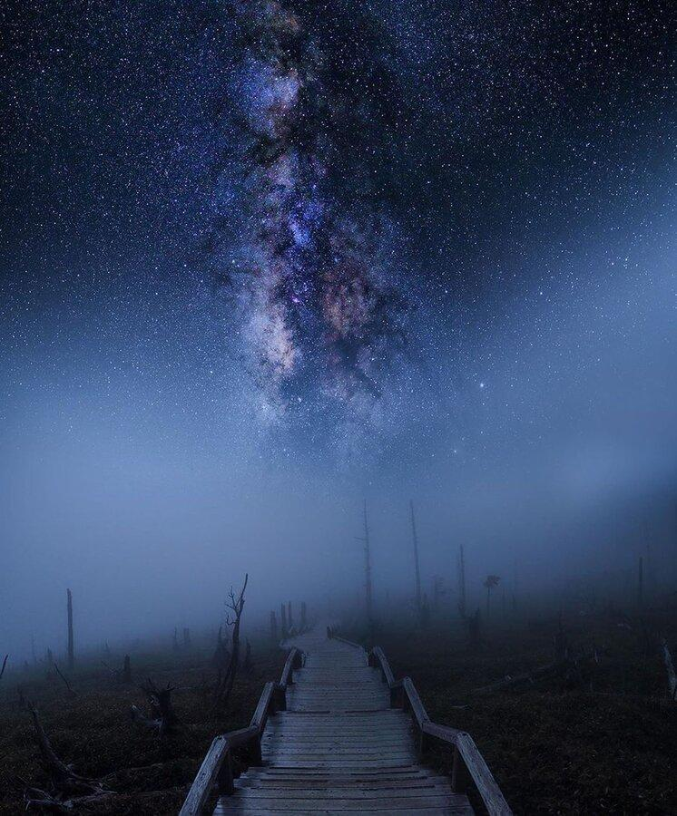 عکس های شگفت انگیز در شب ، آسمان شب فقط سیاهی نیست ، شکار لحظه هایی در عکاسی که دیگر امکان پذیر نیست