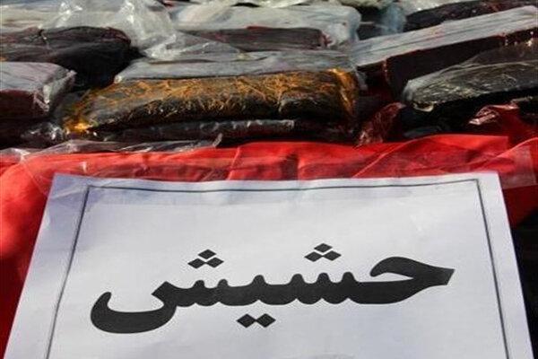 کشف 417 کیلو حشیش با همکاری پلیس دو استان