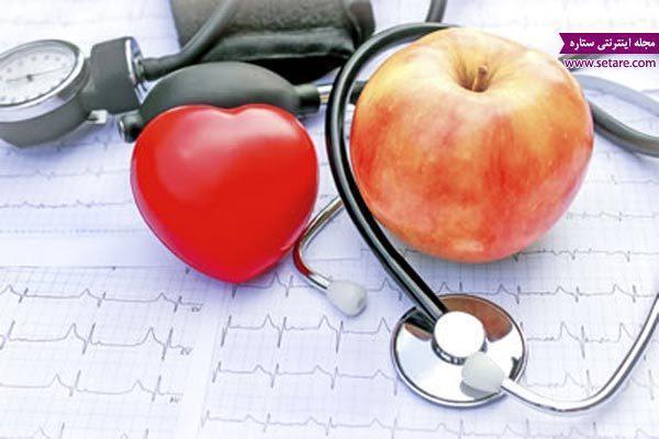کاهش کلسترول خون با معجزه سیب و بادام