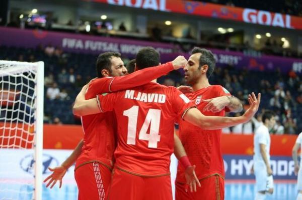 ایران 9 ، ازبکستان 8؛ صعود سخت تیم ملی فوتسال به مرحله یک چهارم